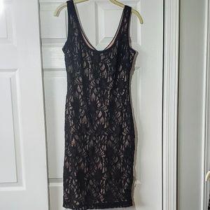 Ralph Lauren Stretch Lace Dress 10